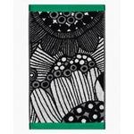 Marimekko Siirtolapuutarha -vieraspyyhe 30x50 cm