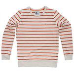 Pokko Reborn Sand & Red Striped Men's Sweatshirt