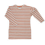 Pokko Reborn Sand & Red Striped Women's College Shirt