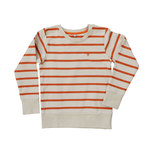 Pokko Reborn Sand & Red Striped Kids Sweatshirt