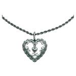 Kalevala Talon sydän -riipus, hopea