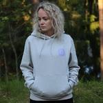 INTO Original hoodie, vaalea harmaa