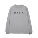 Makia Oksa Pitkähihainen paita Harmaa