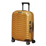 Samsonite Proxis Nelipyöräinen laajennettava matkalaukku 55cm KULTA