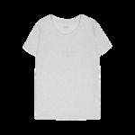 Makia Naisten Angle T-shirt Harmaa, koko XL