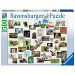 Ravensburger Funny Animals 1500 palan Palapeli