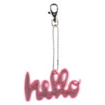 Moiko Hello- Heijastin Pinkki