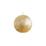 Balmuir Glitter Pallokynttilä lahjapakkauksessa, Kulta