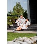 Luin Living Grande Poncho Unisex M/XL Pearl Grey