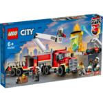 Lego City Palokunnan sammutusyksikkö