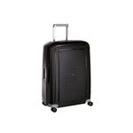 Samsonite S'Cure Spinner -matkalaukku, 75 cm Musta