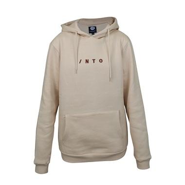 INTO Horizontal hoodie, beige